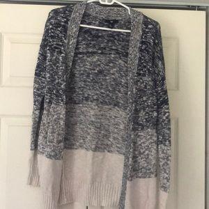 Long layering sweater